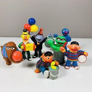 Vintage Sesame Street PVC Figures Lot Henson Muppets Inc Applause Tara Toys