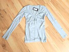 PREGO Oberteil Longsleeve Shirt - XS 34 - Superweich Grau - NP 39.90 € - NEU TOP