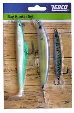 Bay hunter sea bass lure set-zebco
