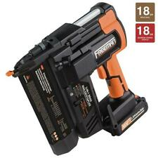 Freeman Cordless Trim Nailer Stapler Gun kit 18-Volt Lithium Ion Batteries