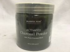MAJESTIC PURE ACTIVATED CHARCOAL POWDER TEETH WHITENING facial mask EXP 07/19