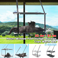 Cat Hammock Bed Mount Window Lounger Suction Cups Warm Bed For Pet Cat