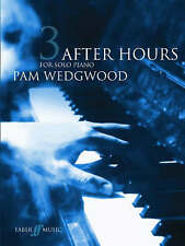 After Hours For Solo Piano Music Book 3 Wedgwood Ballads Jazz Blues Lullaby S22