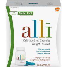 alli Orlistat 60mg Weight Loss Supplement Pills - 60 Count