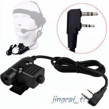 z-tactique U94 Écouteur Câble Adaptateur & PTT pour Kenwood Puxing Wouxun
