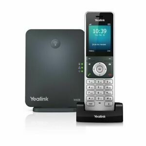BT Yealink W60P DECT Cordless VOIP Phone System (W60B + W56H) - New