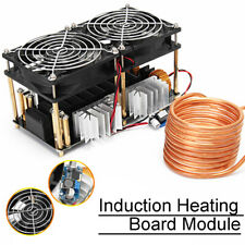 1800W ZVS Heater Induction Heating Board Module Driver Heater + Coil + Dual Fan