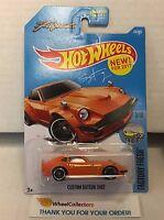 Custom Datsun 240Z #174 * Orange * 2017 Hot Wheels * NE13