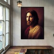 "Jesus Portrait Oil Painting Art Silk Canvas Poster Wall Decor Unframed 16""x24"""