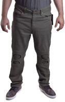 Marc Ecko Men's Zip Leg Stretch Flex Vert Green Distress Moto Pants Choose Size