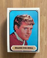 VINTAGE 1967 TOPPS MGM MAYA MYSTERIES OF INDIA COMPLETE TRADING CARD SET 1-55
