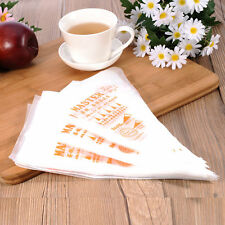 200Pcs Thin Medium Cake Decoration Tool Icing Piping Pastry Disposable Cream Bag