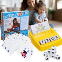 Educational English Spelling Alphabet Letter Game Early Learn Developmental Toys