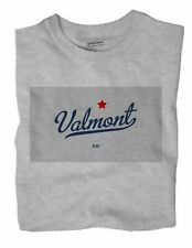 Valmont Colorado CO T-Shirt MAP