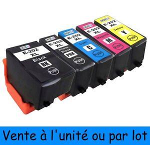 ENCRE4U - Cartouches d'encre compatibles 202 XL : Série KIWI ( non OEM Epson )