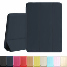 Slim Smart Cover Silicone Back Case Leather Stand For Apple iPad 2/3/4 Mini Air