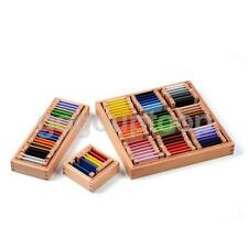 Montessori Sensorial Material Wooden Color Box Kids Preshool Teaching Aids