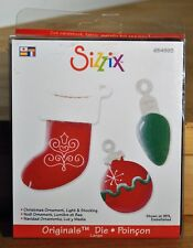 Sizzix Original Christmas Ornament Light & Socking # 654993