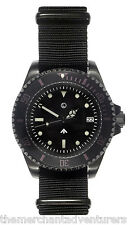MWC 24 Jewel 300m (Sterile) | Black PVD Steel | Auto | Submariners/Divers Watch