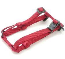 "HAMILTON Adjustable Nylon Comfort Dog Harness, X-Small (3/8"" x 10""-16""), Red"
