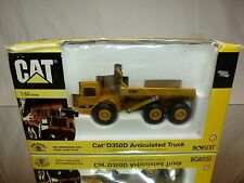 NORSCOT 55700 CATERPILLAR CAT D350D ARTICULATED TRUCK - MUSTARD 1:50 - GOOD IB