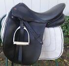 "RARE COURBETTE Dressage Show Saddle - BERNINA - 17.5"" Seat - BEAUTIFUL!"
