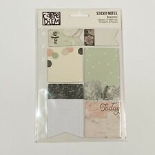Simple Stories Carpe Diem Beautiful Floral Planner Accessories Sticky Notes New
