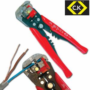 CK 495001 Adjustable Automatic Wire/Cable Cutter/Stripper,Crimping/Crimper Plier