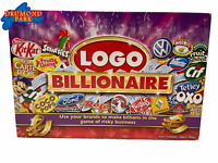 LOGO BILLIONAIRE Game by Drumond Park 'Game of Risky Business'  -Complete-