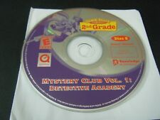 JumpStart 2nd Grade Mystery Club Vol 1 Detective Academy (PC, 2003) Disc 3 Only