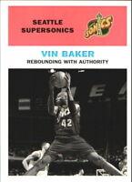 1998-99 Fleer Classic '61 Seattle Supersonics Basketball Card #36 Vin Baker/61