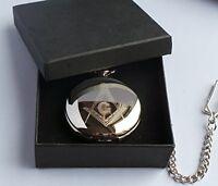 Freemasons Freemasonry Secret Society  Masons Of London Full Hunter Pocket Watch