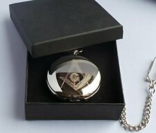 Freemasons Freemasonry Secret Society  Masons Of London Full Hunter Pocket Watch