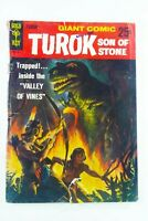 """Gold Key TUROK, SON OF STONE (1966) GIANT COMIC #1 """"Valley of Vines"""" SHIPS FREE!"""