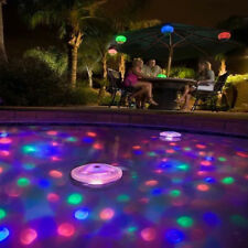 For Swimming Pool Hot Tub Spa Lamp New Floating Underwater LED Light Glow Show