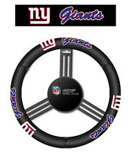 New York Giants Leather Steering Wheel Cover [NEW] NFL Car Auto Truck CDG