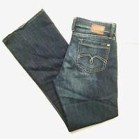 Mavi Molly Womens Jeans 32x32 Blue Distressed Dark Wash Denim Pants