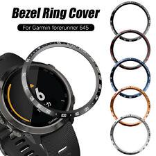 Case Bezel Ring Metal Protective Cover For Garmin Forerunner 645/645 Music