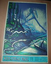 Widespread Panic 2014 Spring Tour Poster David Welker Numbered of 800 Print emek