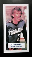DALLAS TORNADO - ALEX STEPNEY Score UK football trade card NASL - MANCHESTER UTD