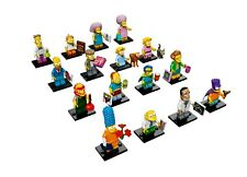 LEGO Minifigures 71009 The Simpsons Series 2 (Complete set of 16) Brand New