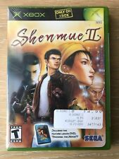 """Shenmue II 2"" Xbox Brand New Factory Sealed"