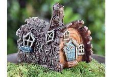 Miniature Fairy Garden Micro Mini Log House GO 17342  by Fiddlehead