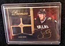 2009-2010 O-Pee-Cher Premier 75 Jamie Benn Autographed And Numbered With Jersey