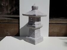 "12"" Mitsukai Asian Ceramic Pagoda Lantern Japanese Bonsai Garden Decor 76"