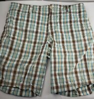 "Men's Shorts Casual Wear Mossimo Supply Co 100% Cotton 36"" Waist 10"" Inseam"