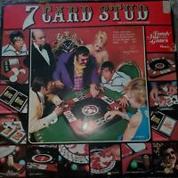 Vintage 1974 Hasbro Jerry Lewis Seven Card Stud Ultimate Poker Board Game RARE!