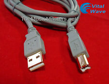 """6' ft USB 2.0 Cable Type """"A"""" to """"B"""" (M-M) High Speed Printer Cord Wire VWLTW"""