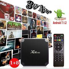 X96 MINI 4K Amlogic  1GB/8GB Android 7.Quad Core TERRA/*SAT* UNLOCKED TV BOX
