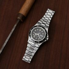 RARE Vintage Certina Diver Watch Swiss Quartz Women's NSA Bracelet Running